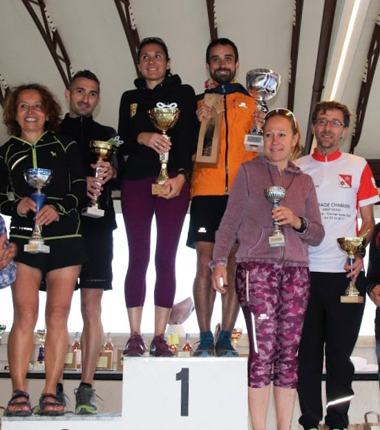 Course et Trail du Muguet (Cantaron, 06) - Victoire de Laurent Bermon sur 11 km Isabelle Belia 2ème femme sur 17 km