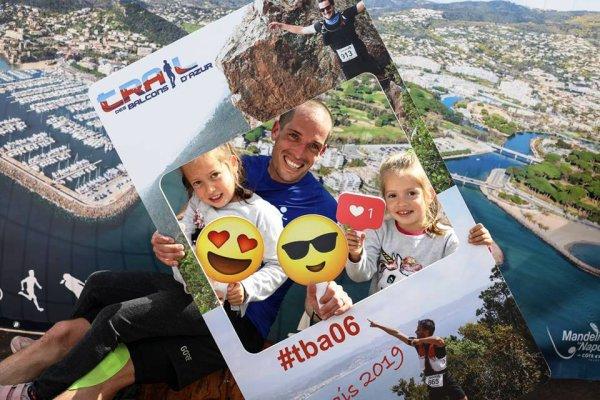 Trail des Balcons d'Azur 2019 (La Napoule, 06) - Victoire d'Eric Descamps sur le 25 km