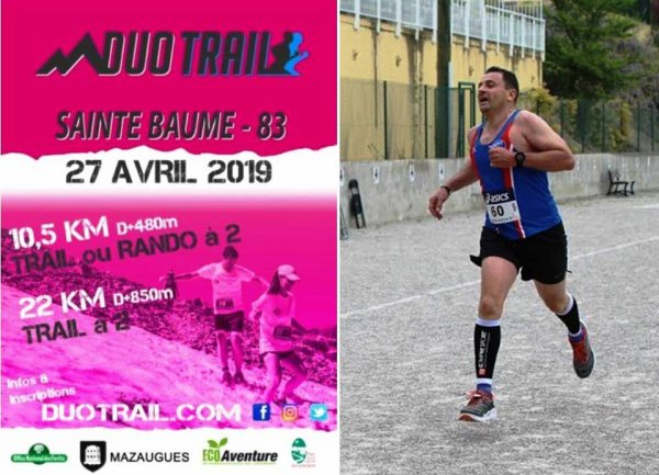 Duo Trail de la Sainte-Beaume (Mazaugues, Var)