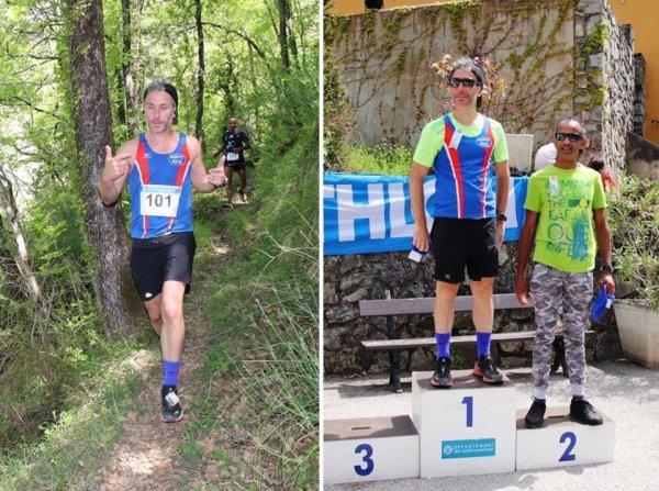 Trail de Massoins 2019 - Charly Dalfin 3ème sur 22 km... et solide comme un roc ! Fabrice Lopez 4ème sur 13 km