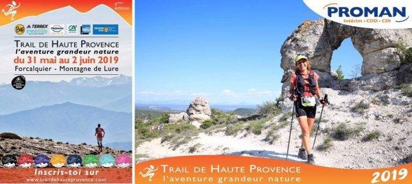 """Trail de Haute Provence 2019 (Forcalquier, 04) - Isabelle Belia 2ème de """"l'Ultra de Lure"""""""