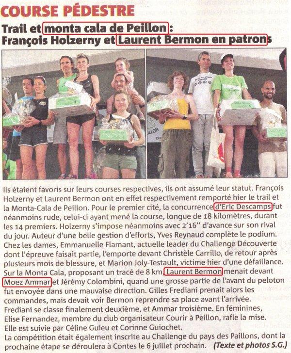 Peillon 2019 - La Mounta Cala pour Laurent, Moez 3ème, Hugues 5ème, Eric 2ème (Trail)
