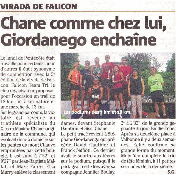 Salomon Bandol Classic (8 juin 2019) et Virada de Falicon (10 juin 2019)