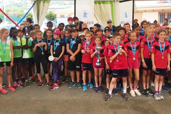 Finale Départementale Poussins 2019 - Résultats du Challenge Poussins ATHLÉ 06