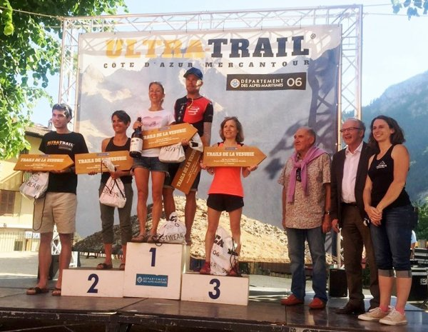 Ultra Trail Côte d'Azur Mercantour 2019 - Amandine Ginouves, un nouveau départ...