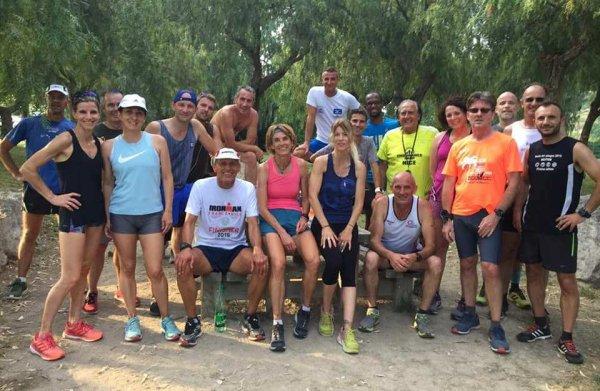 L'ASPTT Nice Côte d'Azur Athlétisme en vacances au Parc de Vaugrenier...!?