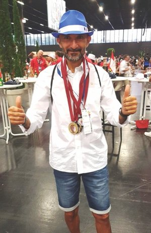 Jeux Européens d'Entreprise 2019 (Salzbourg, Autriche) - Jean-Bernard Grondin en or !