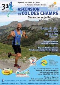 Ascension du Col des Champs 2019 - Podium pour Jean-Max Rolland (1er Master 3)