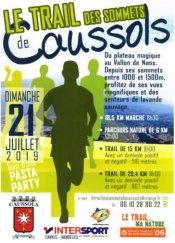 Trail des Sommets de Caussols 2019 - Isabelle Belia, 2ème Master 2 sur 29 km
