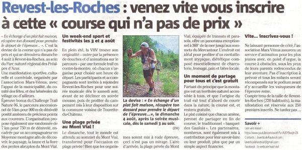 """Le Haut Vial pour """"courir de plaisir"""" (Revest-les-Roches) - 4 août 2019"""