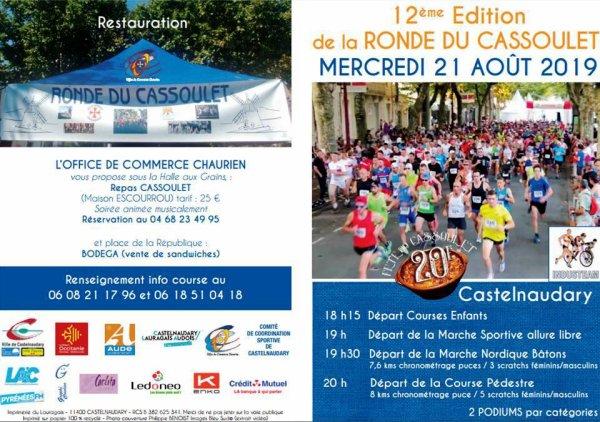 Ronde du Cassoulet 2019 (Castelnaudary, 11) - Eric Descamps 2ème