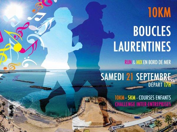 Les Boucles Laurentines 2019 (Saint-Laurent-du-Var) - Victoire de Hanane Hili sur 5 km Top 10 pour Hugues Plessis sur 10 km