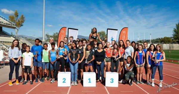 Challenges Jeunes 2019 (Nice) - L'ASPTT Nice 5ème du Challenge Benjamins-Minimes
