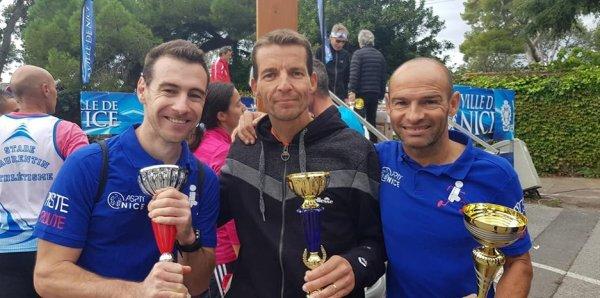 Grand Prix du Cavigal 2019 (Nice) - Alexis 2ème, Hugues 5ème et David 2ème Master 2