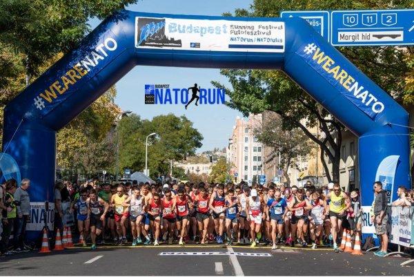 10 km NATO Run 2019 (Budapest, Hongrie) - Arnaud Barnon pour l'ASPTT Nice
