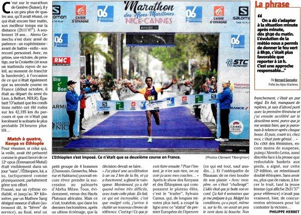 Marathon Nice - Cannes 2019