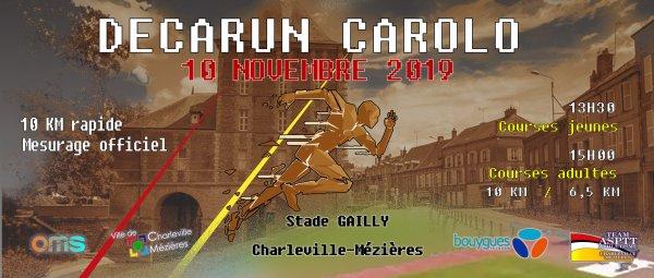 10 km Decarun Carolo (Charleville-Mézières) - L'ASPTT Nice avec Véronique et Manuel
