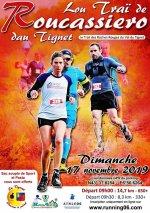 Trail de Roucassiero 2019 (Le Tignet, 06) - Baptiste Bonhomme 4ème sur 14,7 km