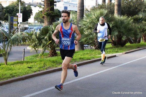 10 km de San Remo (Italie) - L'ASPTT Nice Côte d'Azur avec Cyril Trouilhas (15ème)