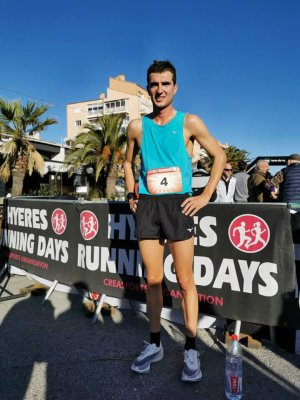 Hyères Running Days (7-15 décembre 2019) - Exploit de Raphaël Montoya sur 10 km