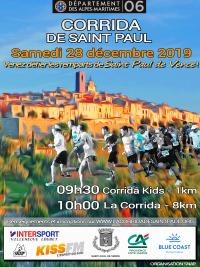 Corrida de Saint Paul 2019 - Samedi 28 décembre 10h00