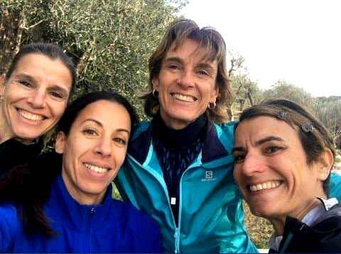 Départementaux de Cross 2020 (Opio, 06) - Top 10 pour Baptiste, Mickaël et Heidi L'ASPTT Nice Côte d'Azur 3ème en Cross Long Féminin