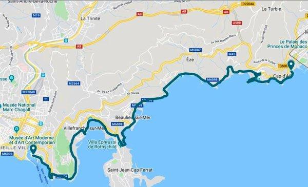 La Course du Soleil 2020 (Nice - Cap d'Ail) - Hugues Plessis 2ème Master 3 (15ème)
