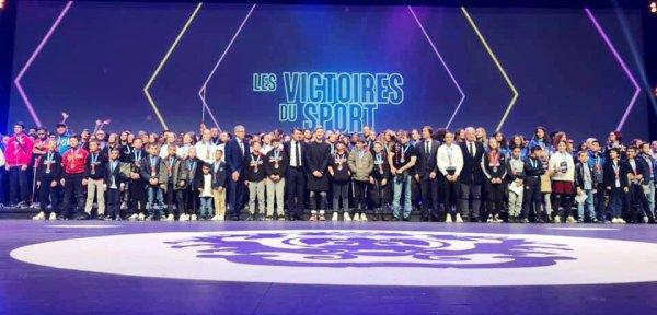 Les Victoires du Sport 2019 - Yolande Marchal et  Jean-Bernard Grondin à l'honneur