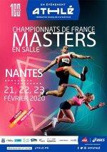 France Masters en Salle 2020 (Nantes) - Karim Belkhadem 5ème Master 2 sur 3000 m