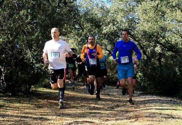 Trail des 6 Collines (Cabriès, 13) - Bernard Lefevre 2ème Master 6 sur 14,5 km