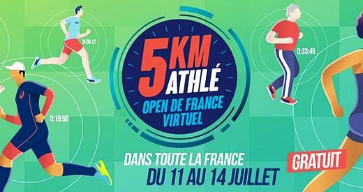 5 km Athlé - Open de France Virtuel 2020