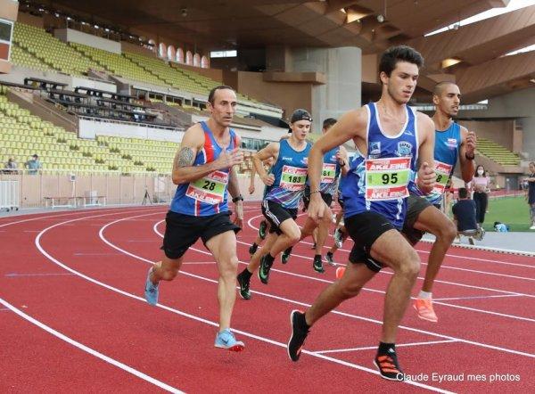 Laurent François sur 800 m à Nice et Monaco (août 2020)