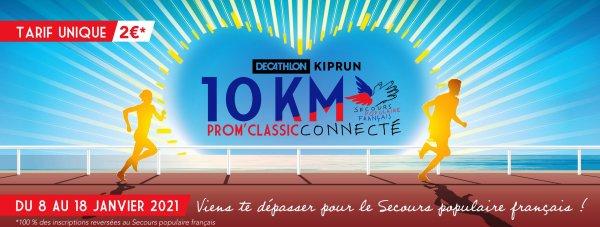 10 km Prom'Classic Décathlon Kiprun Connecté (Nice) - 8-18 janvier 2021