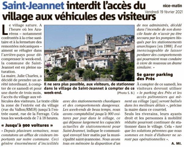 """Saint-Jeannet et les Baous """"victimes"""" de leur succès"""
