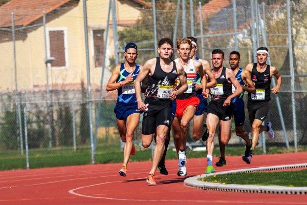 Meeting demi-fond de Toulon - Nouveau record sur 5000 m pour Raphaël Montoya