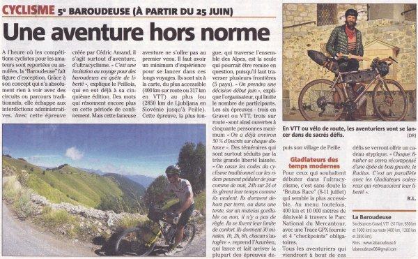 Ultra Cyclisme - La Baroudeuse 2021 (Peille, Alpes-Maritimes)