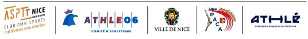 Meeting 1000m de l'ASPTT Nice Côte d'Azur -  16 juin au Stade de La Lauvette (Nice)