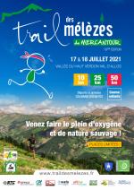 Trail des Mélèzes 2021 (Colmars-les-Alpes) - Victoire d'Amandine Ginouves sur 50 km