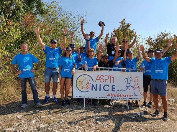 L'IronMan 70.3 Nice 2021 avec l'ASPTT Nice Côte d'Azur Athlétisme