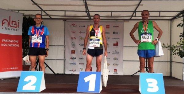 France Piste Masters 2021 (Albi, 81) - Karim Belkhadem en argent sur 5000 m