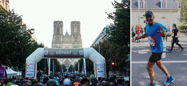 """Marathon """"Run In Reims"""" 2021 - Didier Allou 1er Master 5"""