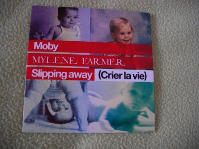 "Supports ""Slipping Away"" Duo Mylène Farmer & Moby"