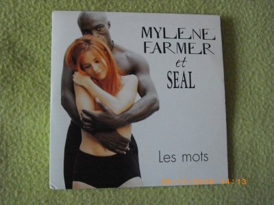 "Supports single ""Les Mots"" en duo avec Seal"