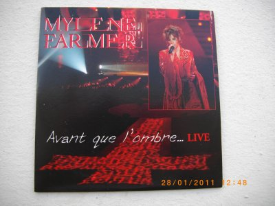 "Supports ""Avant que l'ombre... Live"""