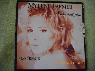 "Maxi 45 Tours Single ""Ainsi soit je..."""