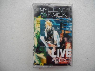 "Cassette audio ""Live à Bercy"""