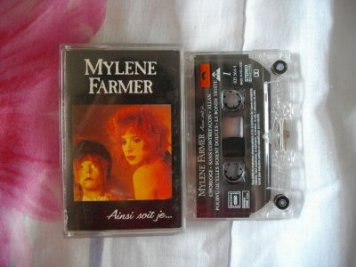 """Cassette audio 2nd pressage de l'album """"Ainsi soit je..."""""""