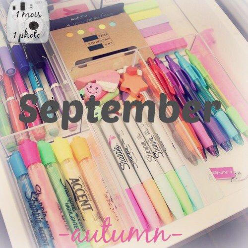 1 mois 1 photo → Septembre et Octobre