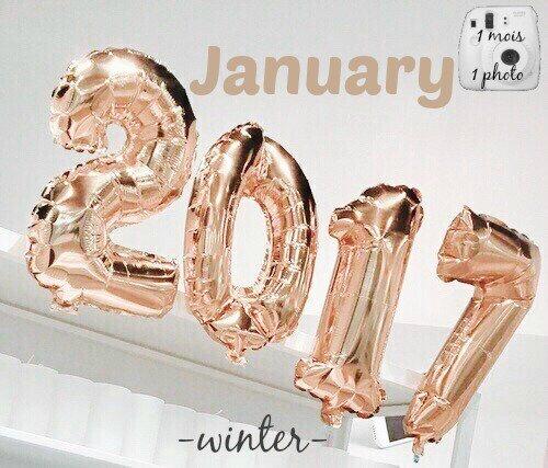 1 mois 1 photo → Janvier