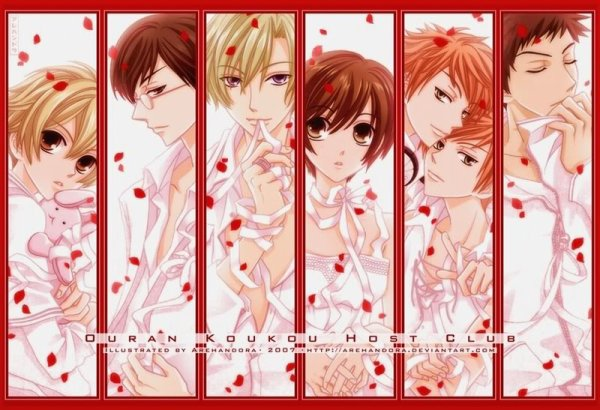 Ouran High School Host Club / 桜蘭高校ホスト部